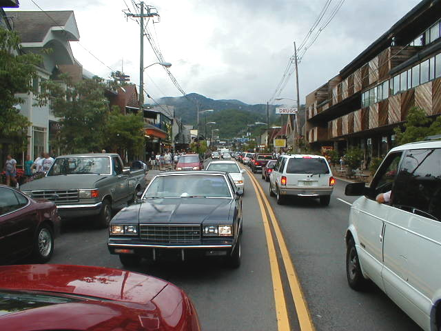 Gatlinburg, TN : Downtown Gatlinburg