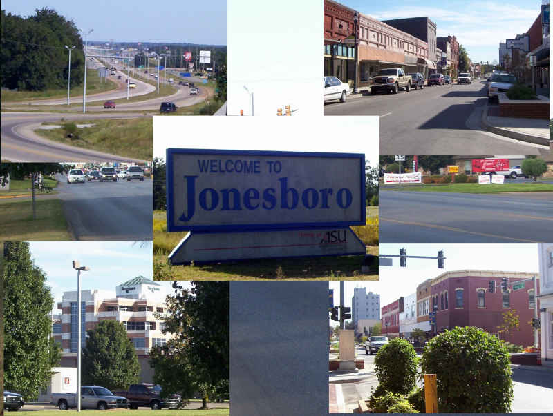 Jonesboro, AR : various images from around the city