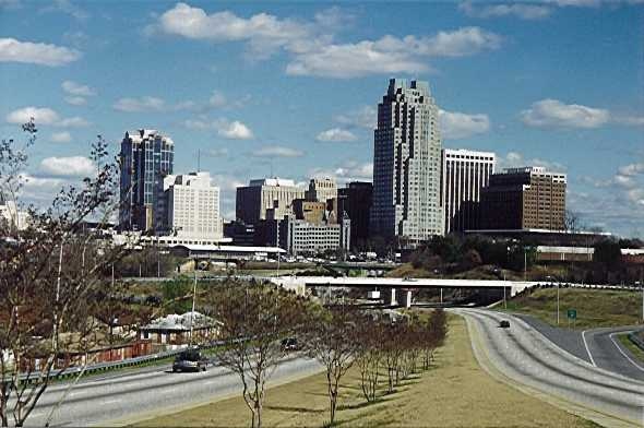 Raleigh, NC : Raleigh Skyline (2000) photo, picture, image (North ...