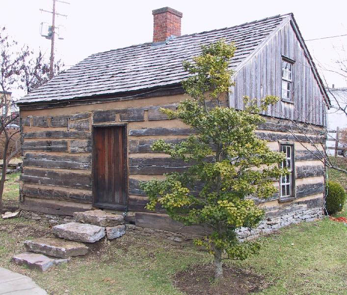Georgetown Ky Old Log Cabin Photo Picture Image