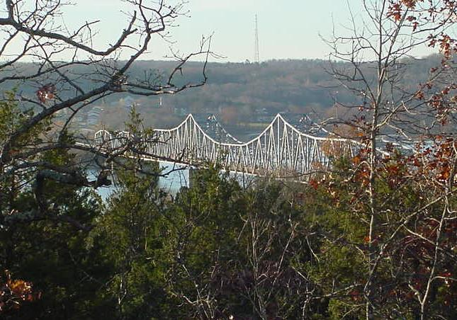 Kimberling City, MO : Kimberling City Bridge on Table Rock Lake