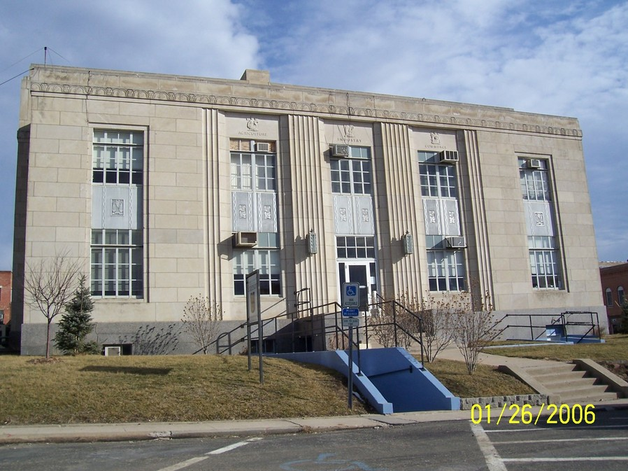 Bethany, MO : Harrison county court house in Bethany MO