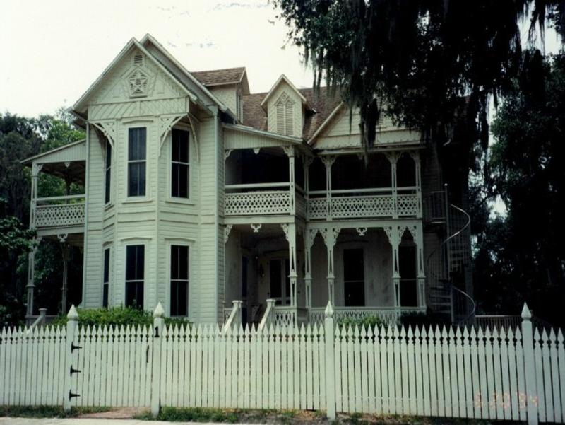 victorian house. Old Victorian House on the