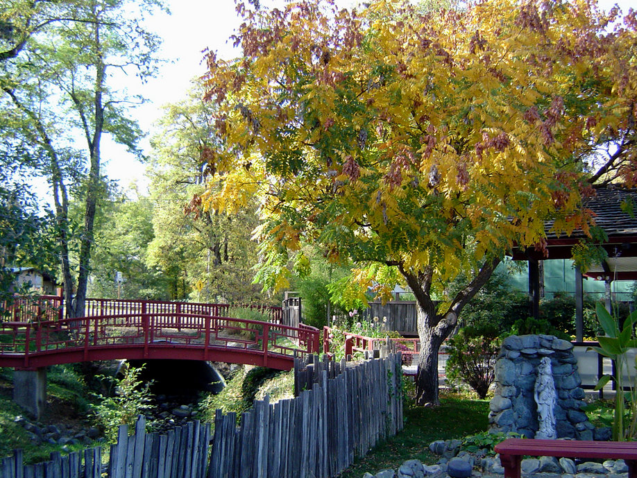 Weaverville, CA: Autumn at the Joss House