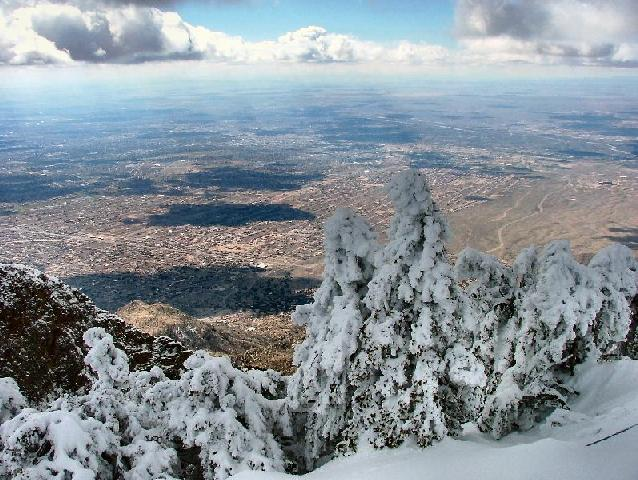 Albuquerque, NM : View Albuquerque from Sandia Peak NM