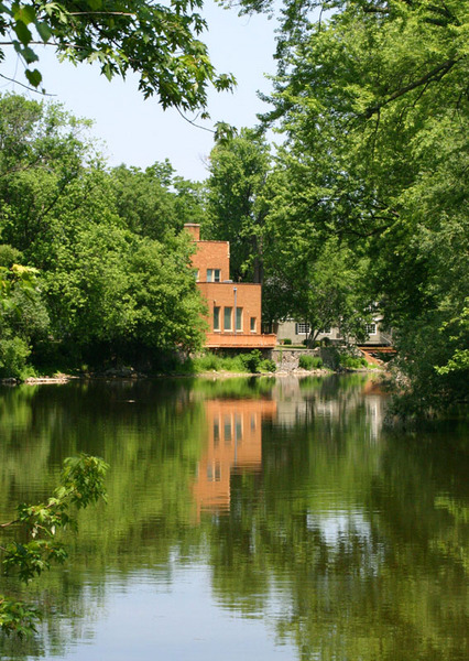 Thiensville, WI : milwaukee river in thiensville