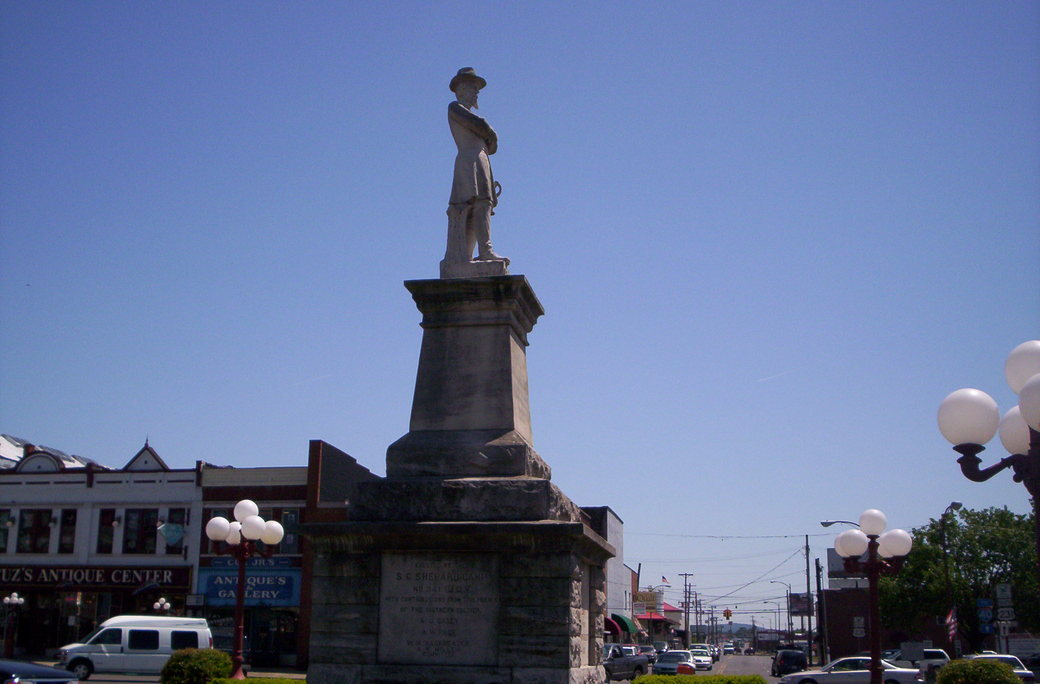 Lebanon, TN : STATUE IN LEBANON CITY SQUARE