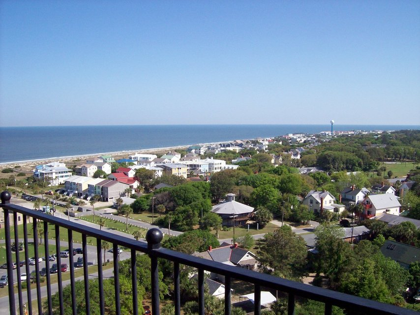 Tybee Island, GA : Tybee from the top of the lighthouse