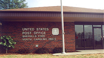 Sherrills Ford, NC : Sherrills Ford post office