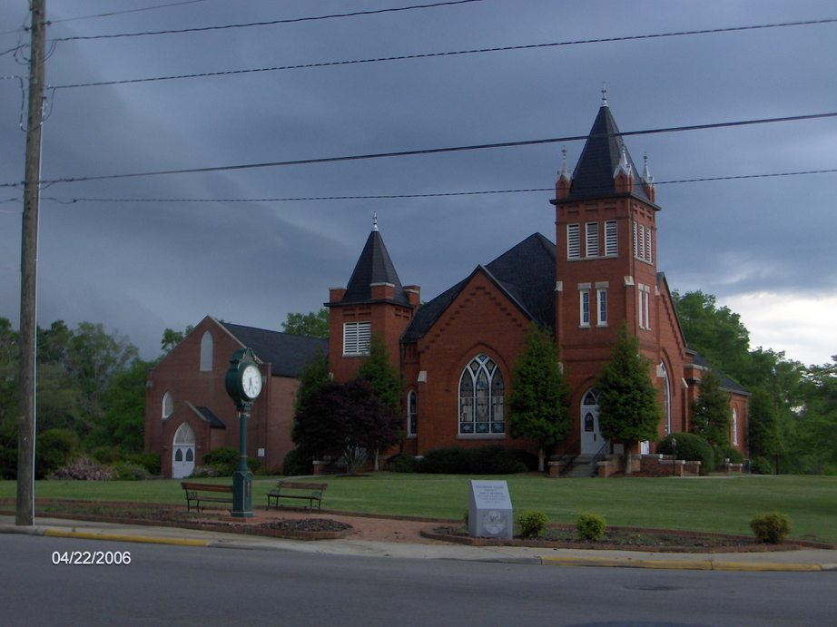 Mount Gilead, NC: First United Methodist Church