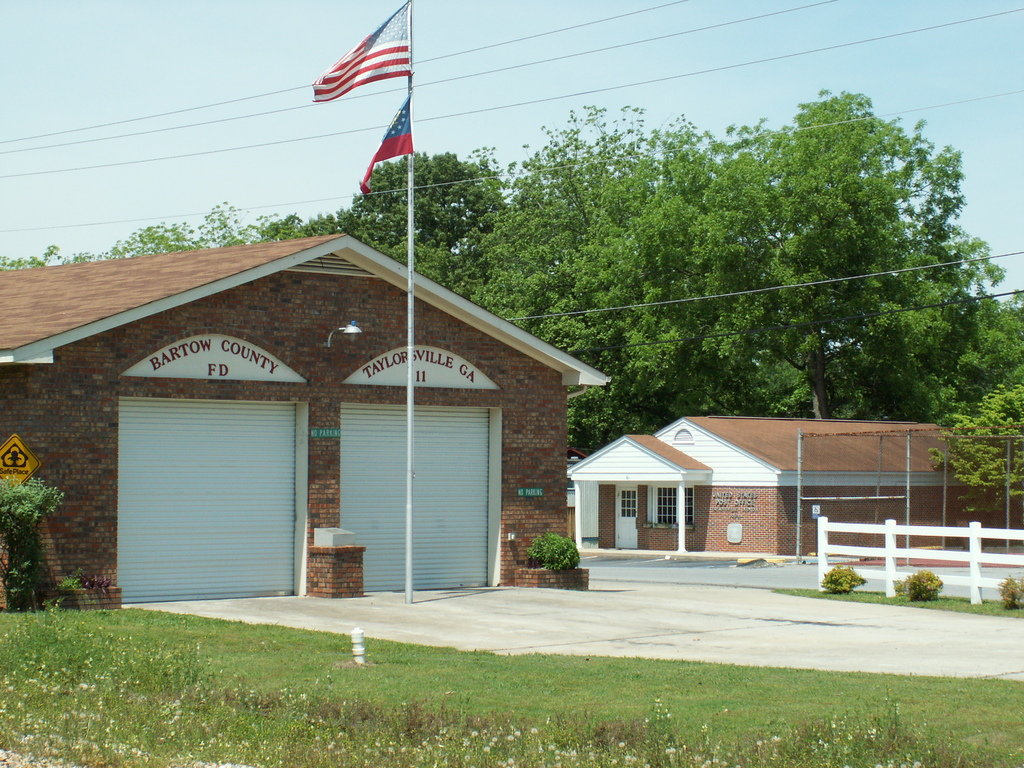 Taylorsville, GA : Taylorsville Post Office and Bartow County Fire Department