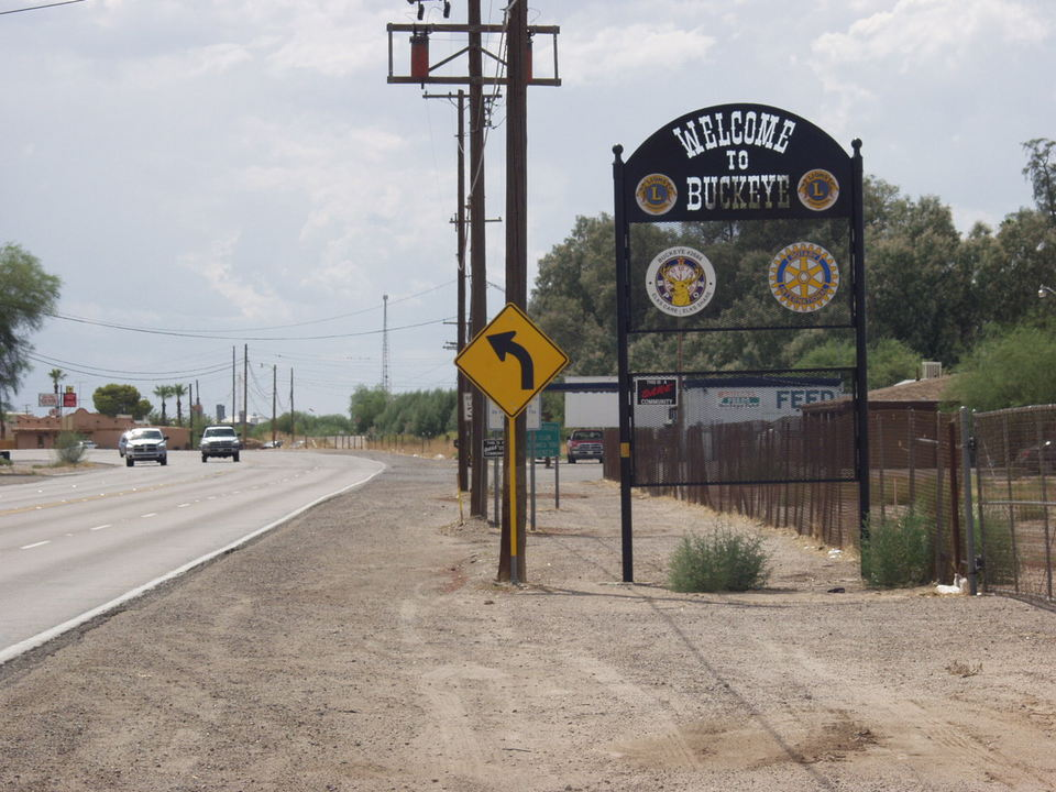 Buckeye Az Entering Buckeye From East On Main Street