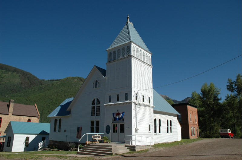 Rico, CO: Church