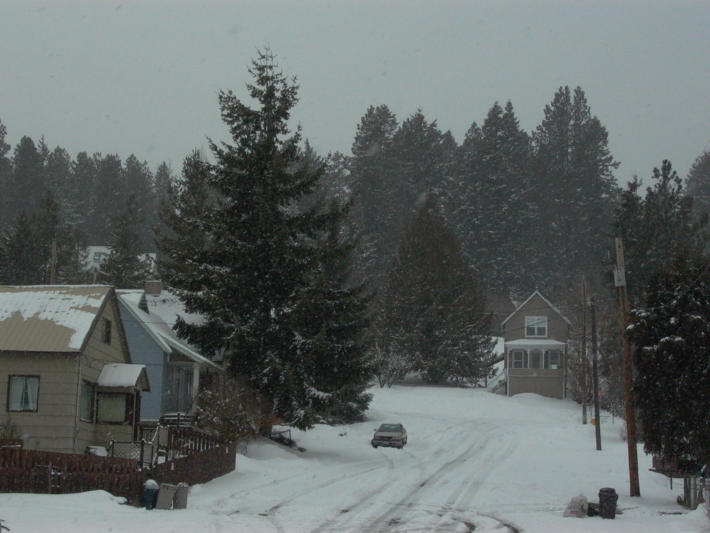 Roslyn, WA: Roslyn in winter