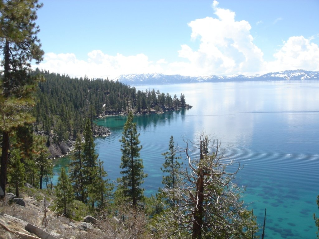 Incline Village-Crystal Bay, NV : Lake Tahoe from Incline Village Road