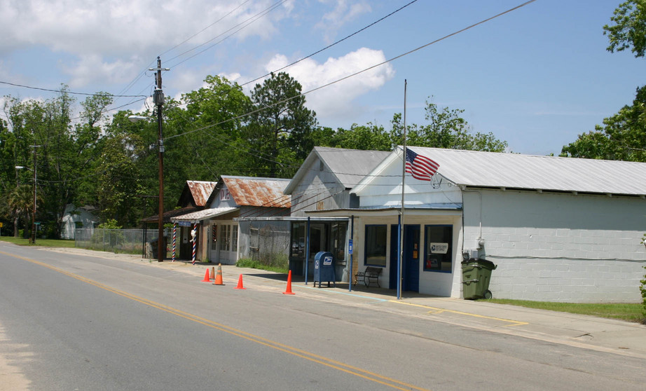 Enigma, GA : East side of Main Street - includes Post Office