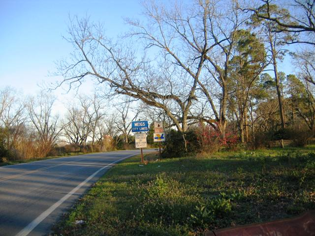 Meigs, GA : Meigs City Limits, GA Hwy 3 Old Dixie Highway
