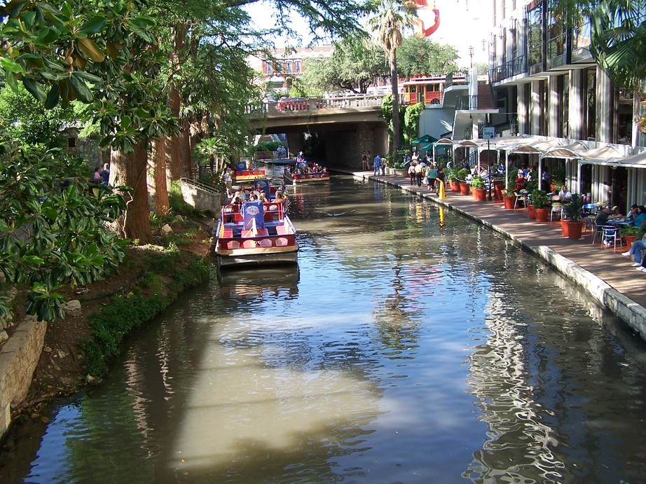 San Antonio Tx River Walk Photo Picture Image Texas