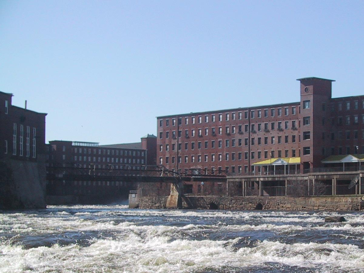 Saco, ME : The Mills on Saco Factory Island
