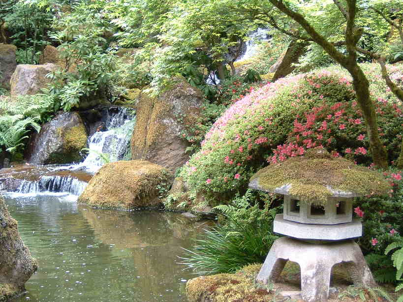 Portland, OR : Japanese Gardens, Portland, Oregon