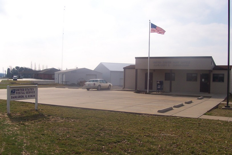 Dahlgren, IL : Dahlgren Post Office