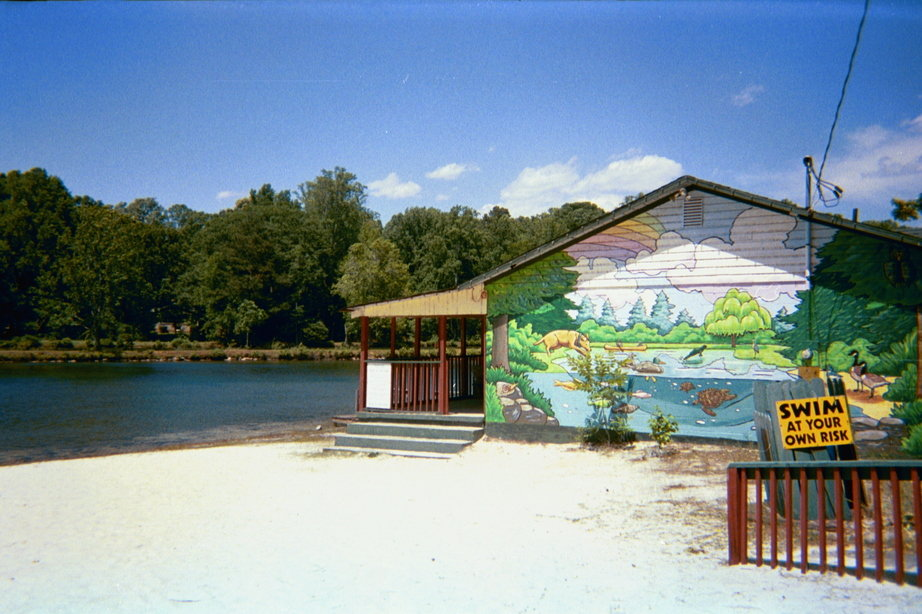 Pine Lake, GA: Pine Lake and Pine Lake Clubhouse
