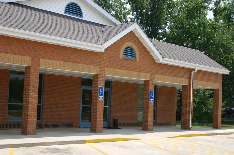Odum, GA : Post Office