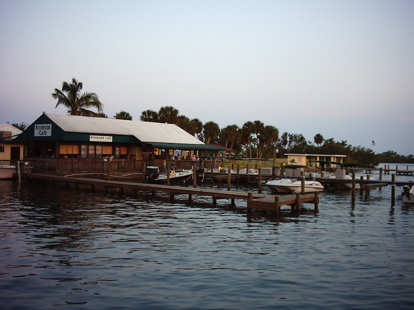 The Riverside Cafe - Restaurants, Attractions/Entertainment - 1 Beachland Blvd, Vero Beach, FL, 32963, US