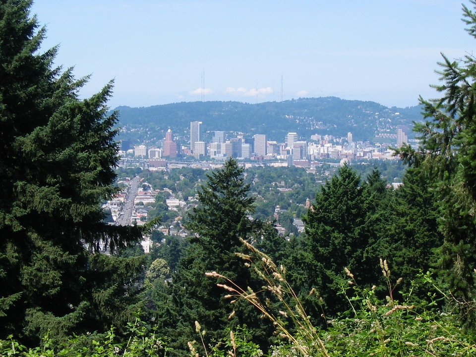 Portland, OR : View of Downtown Portland