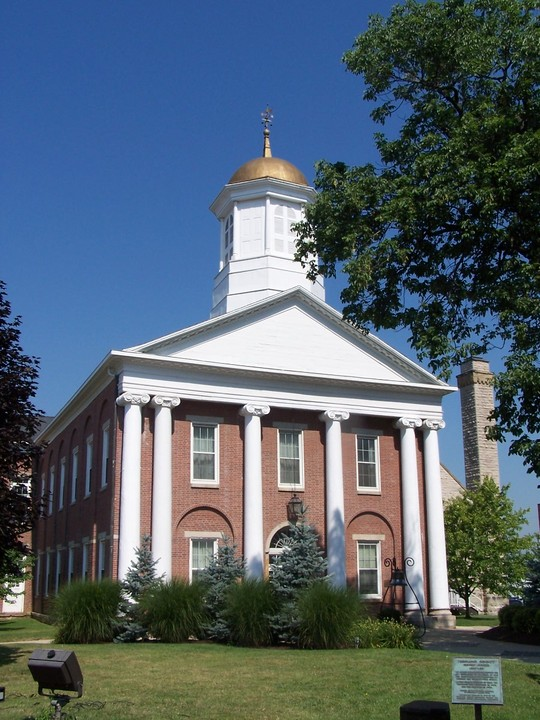 Hillsboro, OH: Highland County Courthouse, Hillsboro, Ohio