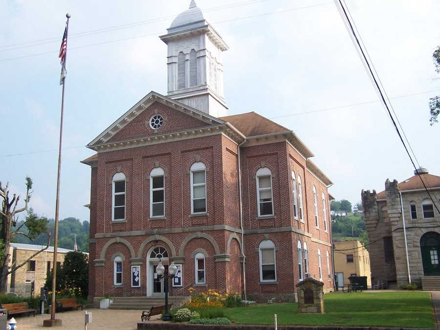 Sutton, WV : Braxton County Courthouse, Sutton, West Virginia