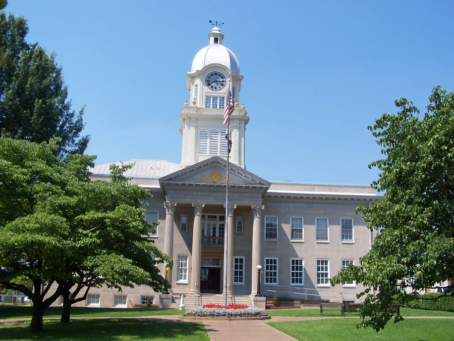 Harrisville, WV : Ritchie County Courthouse, Harrisville, West Virginia