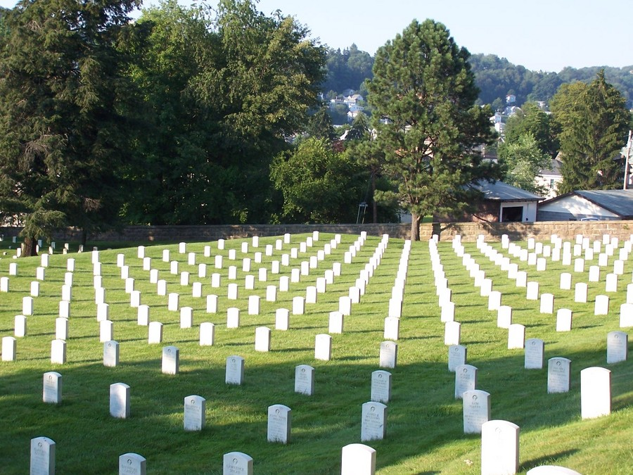 Grafton, WV: Grafton National Cemetery, Grafton, West Virginia