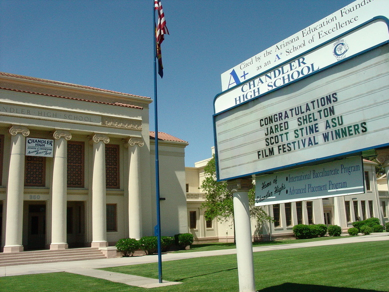 Chandler, AZ : Chandler High School