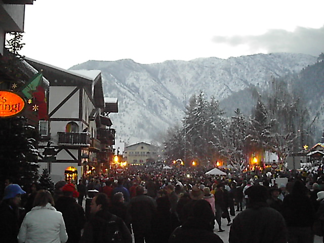 Leavenworth, WA: Christmas time
