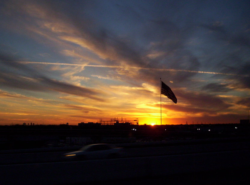 North Richland Hills, TX : Sunset - February 14th 2006