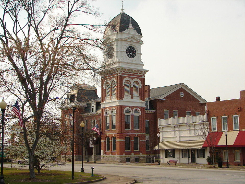 Covington, GA : Courthouse Square
