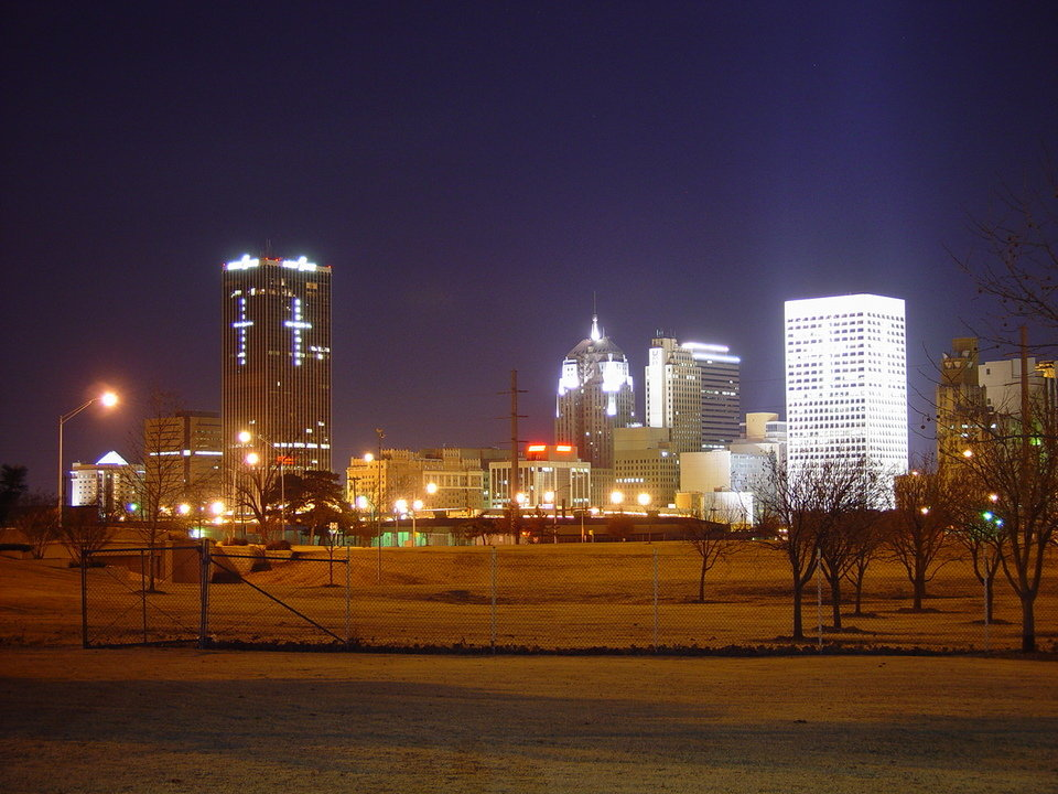 Oklahoma City, OK : OKC at Christmas photo, picture, image ...
