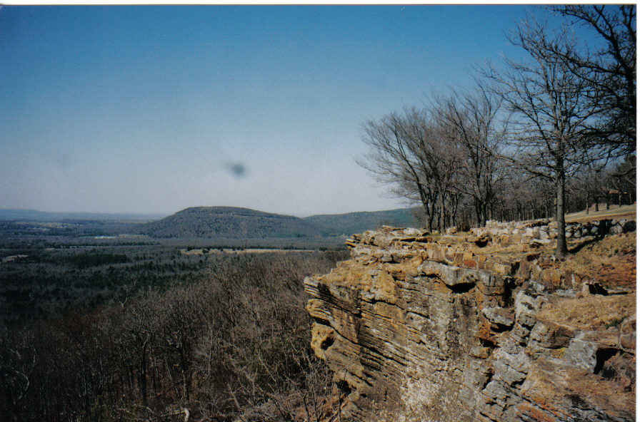 Heavener, OK : Wee Cloud in the Sky ~ Runestone ~ Heavener Ok 1996 ...