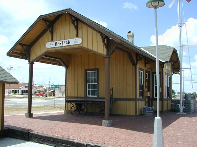 Bertram, TX : Train Depot
