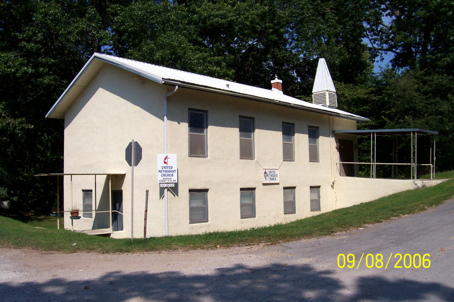 Watts, OK : Methodist Church Building