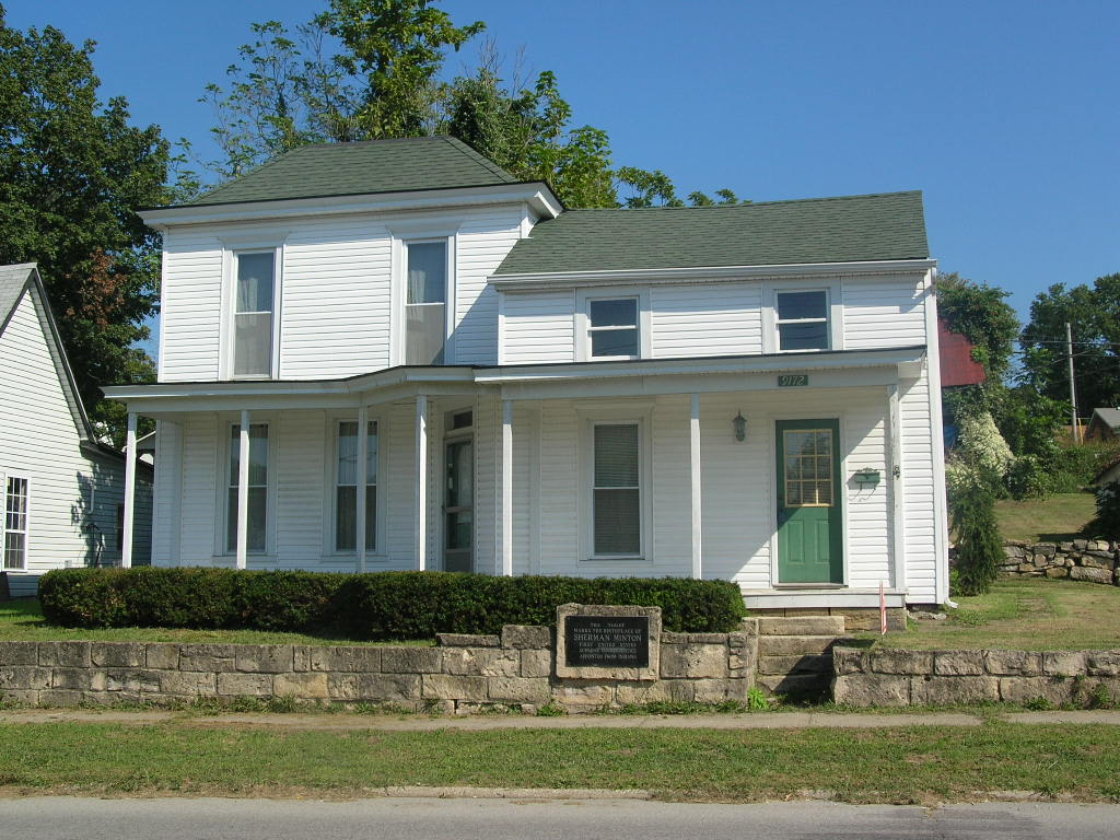 Georgetown, IN : picture of Sherman Minton home in Georgetown,in