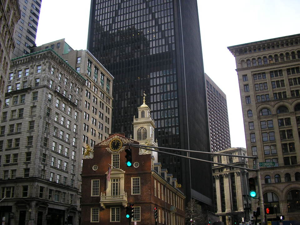 Boston, MA : the old state house