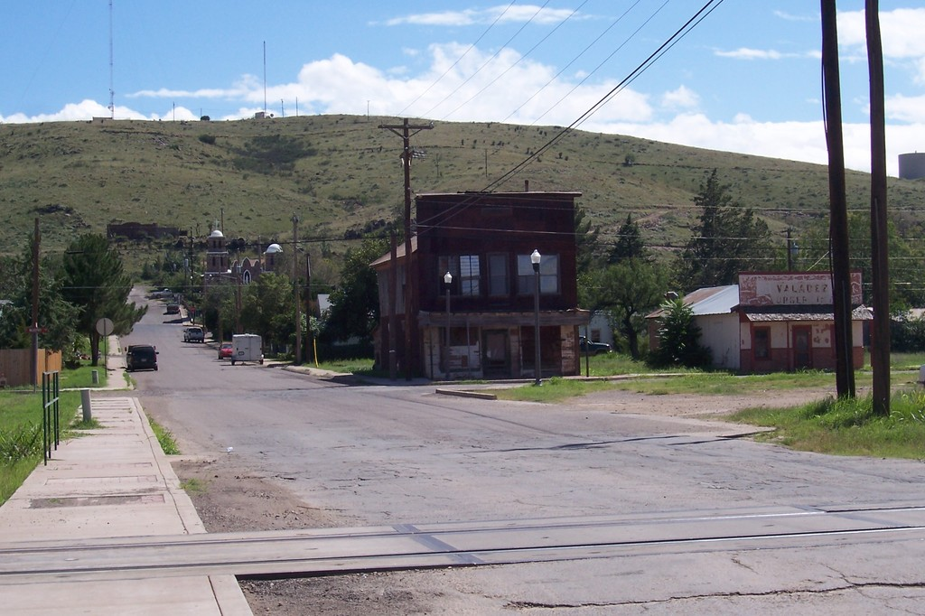 Alpine, TX : Older section of Alpine, TX