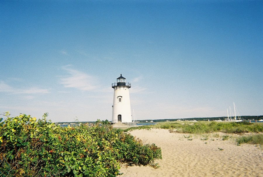 Edgartown, MA : Lighthouse in Edgartown, simply beautiful