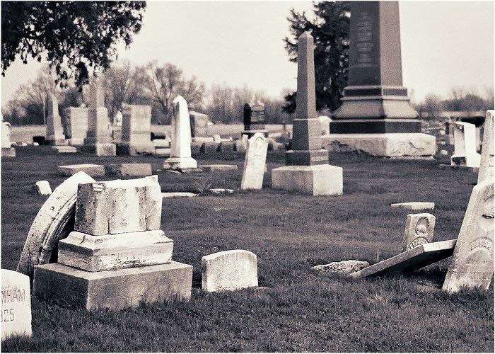 Rushville, IL : Rushville Cemetery