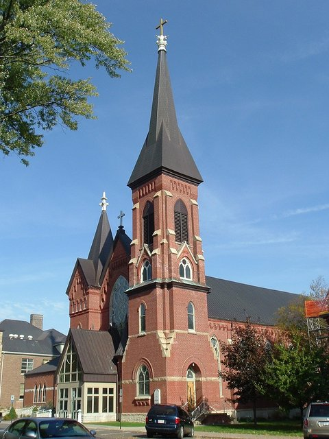 Marshfield, WI : St. John The Baptist Catholic Church
