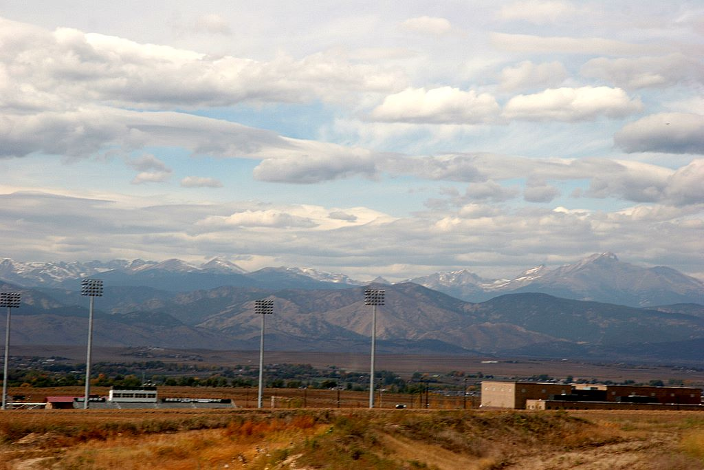 Erie, CO : View from Erie High School!
