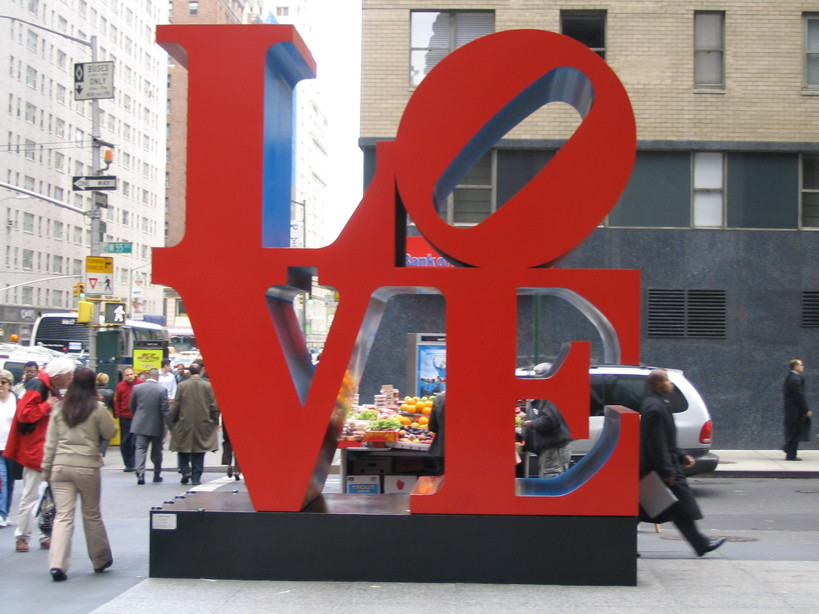 New York, NY : Love Sculpture in NY