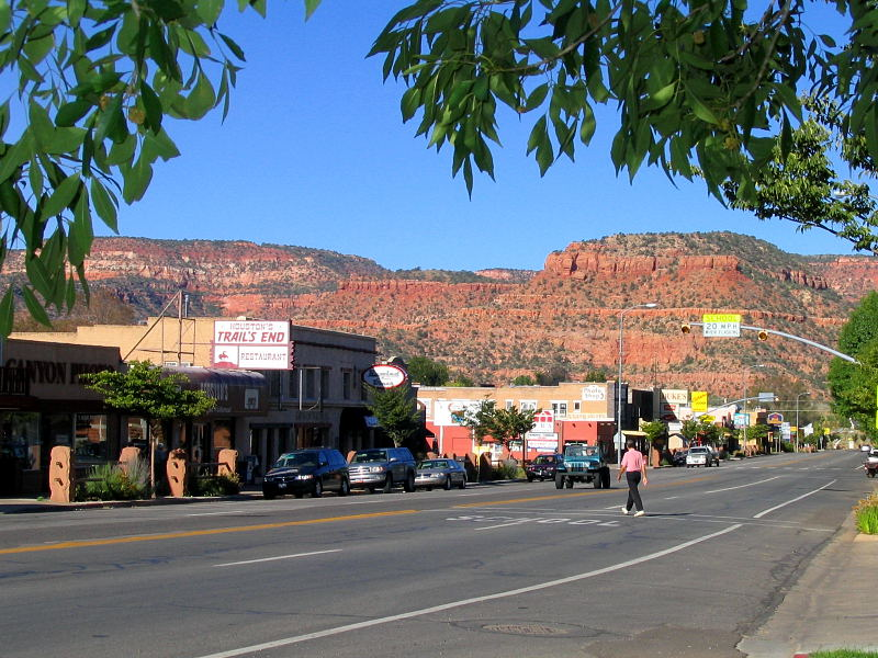 Kanab, UT : Center Street looking West